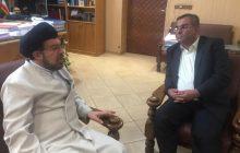 دیدار مدیرعامل منطقه ویژه اقتصادی لامرد با رئیس کل دادگستری استان فارس به مناسبت هفته قوه قضائیه