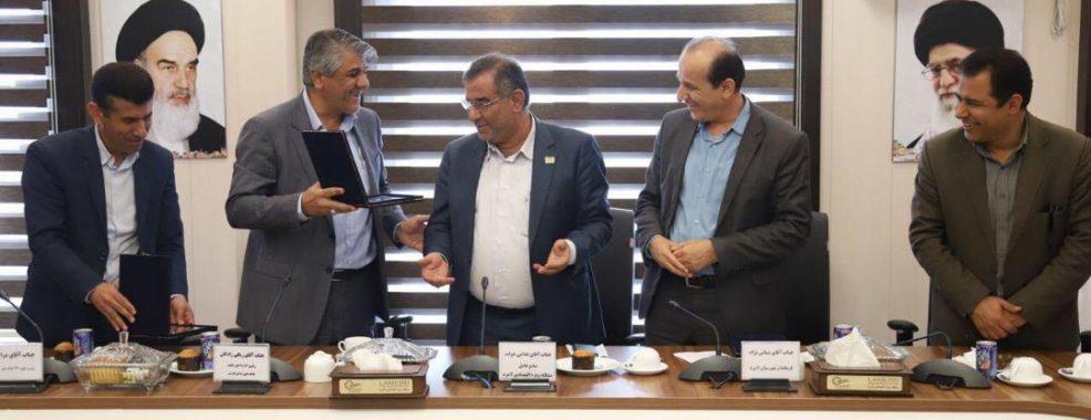 باجه بانک ملی  منطقه ویژه اقتصادی لامرد افتتاح شد