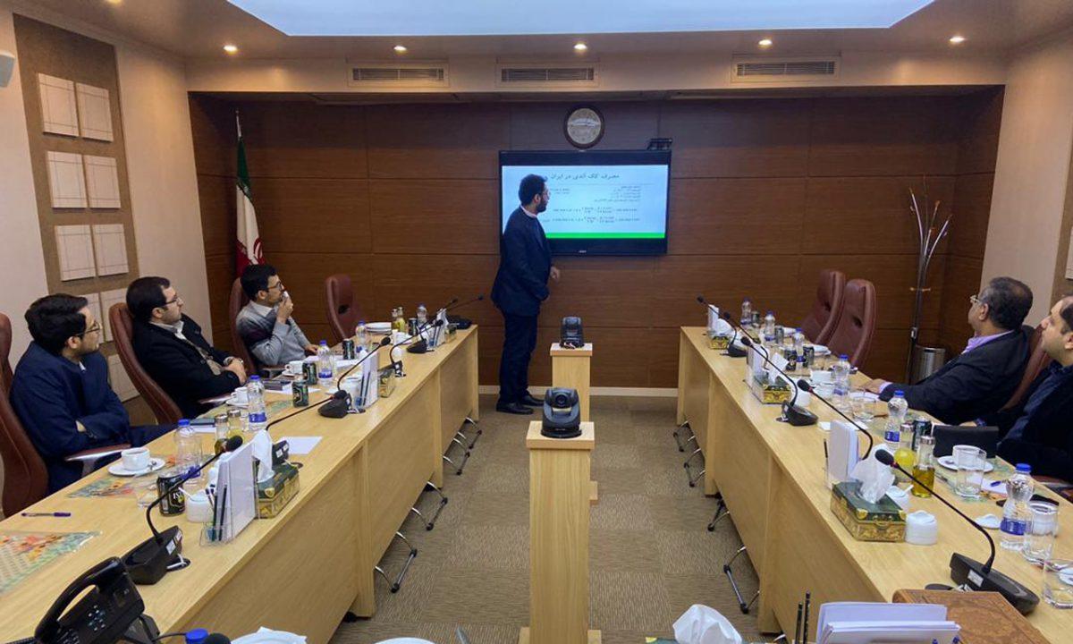 نشست مدیرعامل منطقه ویژه لامرد بامرکز همکاریهای تحوّل و پیشرفت ریاست جمهوری؛