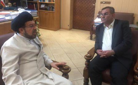 دیدار دکتر فدائی دولت با رئیس کل دادگستری استان فارس به مناسبت هفته قوه قضائیه