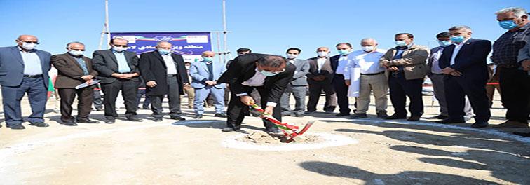 عملیات اجرایی ۷ پروژه مختلف سرمایه گذاری در منطقه ویژه اقتصادی لامرد آغاز شد
